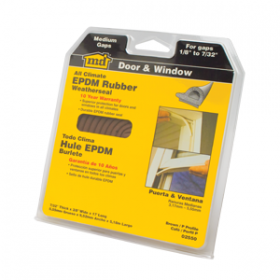 M-D Medium Gap Brown EPDM Weatherseal