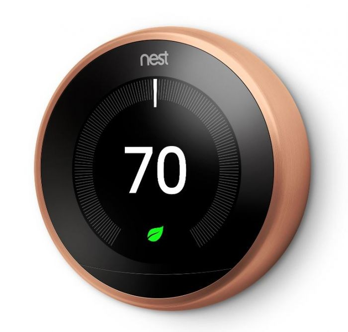Nest Learning Thermostat Copper