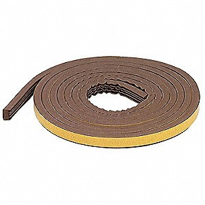 M-D Large Gap Brown EPDM Weatherseal
